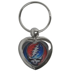 Grateful Dead Logo Key Chains (heart)