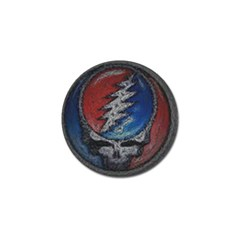 Grateful Dead Logo Golf Ball Marker