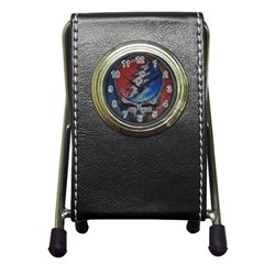 Grateful Dead Logo Pen Holder Desk Clocks