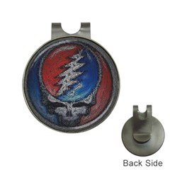 Grateful Dead Logo Hat Clips With Golf Markers by Samandel