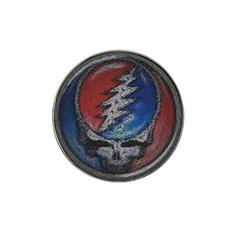 Grateful Dead Logo Hat Clip Ball Marker (4 Pack)