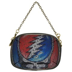Grateful Dead Logo Chain Purses (one Side)