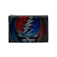 Grateful Dead Logo Cosmetic Bag (medium)