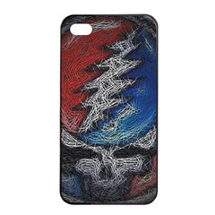 Grateful Dead Logo Apple Iphone 4/4s Seamless Case (black)