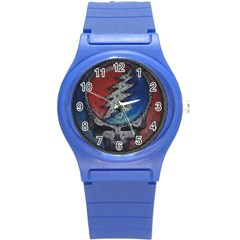 Grateful Dead Logo Round Plastic Sport Watch (s)