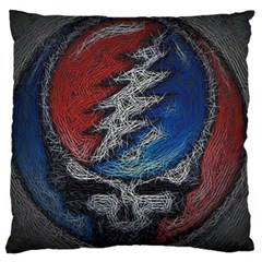 Grateful Dead Logo Large Cushion Case (one Side)