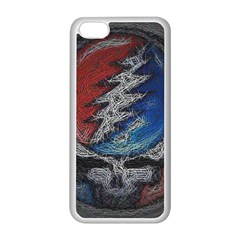 Grateful Dead Logo Apple Iphone 5c Seamless Case (white)