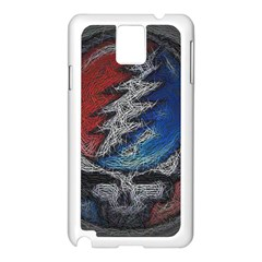 Grateful Dead Logo Samsung Galaxy Note 3 N9005 Case (white)