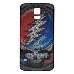 Grateful Dead Logo Samsung Galaxy S5 Back Case (white)