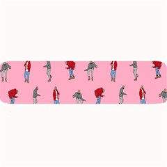 Hotline Bling Pattern Large Bar Mats by Samandel