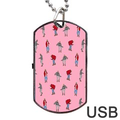 Hotline Bling Pattern Dog Tag Usb Flash (one Side) by Samandel
