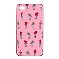 Hotline Bling Pattern Apple Iphone 4/4s Seamless Case (black)