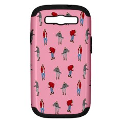 Hotline Bling Pattern Samsung Galaxy S Iii Hardshell Case (pc+silicone)