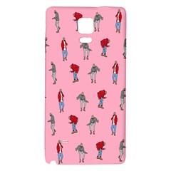 Hotline Bling Pattern Galaxy Note 4 Back Case