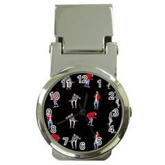 Hotline Bling Black Background Money Clip Watches