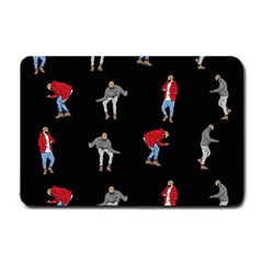 Hotline Bling Black Background Small Doormat