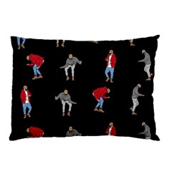Hotline Bling Black Background Pillow Case (two Sides)
