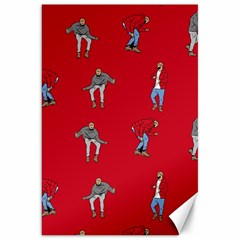 Hotline Bling Red Background Canvas 20  X 30