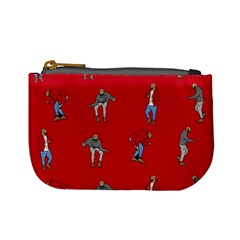 Hotline Bling Red Background Mini Coin Purses