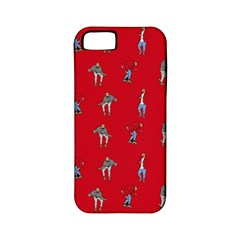 Hotline Bling Red Background Apple Iphone 5 Classic Hardshell Case (pc+silicone)