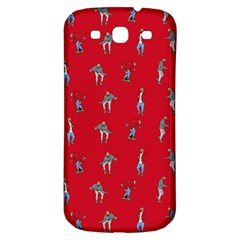 Hotline Bling Red Background Samsung Galaxy S3 S Iii Classic Hardshell Back Case