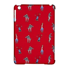 Hotline Bling Red Background Apple Ipad Mini Hardshell Case (compatible With Smart Cover)
