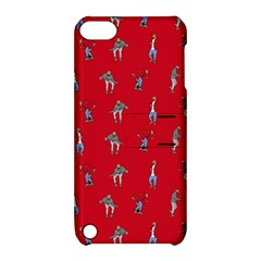 Hotline Bling Red Background Apple Ipod Touch 5 Hardshell Case With Stand