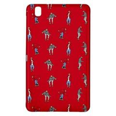 Hotline Bling Red Background Samsung Galaxy Tab Pro 8 4 Hardshell Case by Samandel