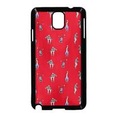 Hotline Bling Red Background Samsung Galaxy Note 3 Neo Hardshell Case (black)