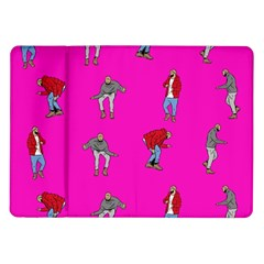 Hotline Bling Pink Background Samsung Galaxy Tab 10 1  P7500 Flip Case