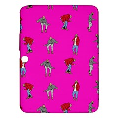 Hotline Bling Pink Background Samsung Galaxy Tab 3 (10 1 ) P5200 Hardshell Case