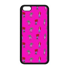 Hotline Bling Pink Background Apple Iphone 5c Seamless Case (black)