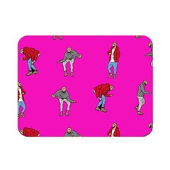 Hotline Bling Pink Background Double Sided Flano Blanket (mini)