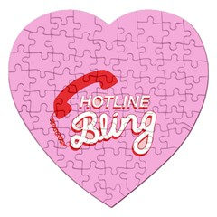 Hotline Bling Jigsaw Puzzle (heart)