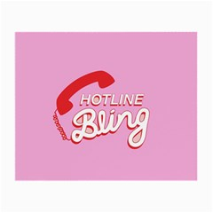 Hotline Bling Small Glasses Cloth (2 Side) by Samandel
