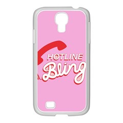 Hotline Bling Samsung Galaxy S4 I9500/ I9505 Case (white)