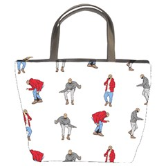 Hotline Bling White Background Bucket Bags
