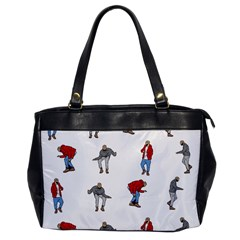 Hotline Bling White Background Office Handbags