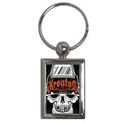 Kreator Thrash Metal Heavy Hard Rock Skull Skulls Key Chains (rectangle)