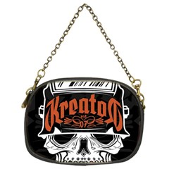 Kreator Thrash Metal Heavy Hard Rock Skull Skulls Chain Purses (two Sides)