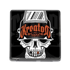 Kreator Thrash Metal Heavy Hard Rock Skull Skulls Memory Card Reader (square)