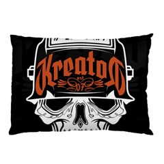 Kreator Thrash Metal Heavy Hard Rock Skull Skulls Pillow Case (two Sides) by Samandel