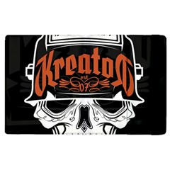 Kreator Thrash Metal Heavy Hard Rock Skull Skulls Apple Ipad 3/4 Flip Case