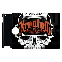 Kreator Thrash Metal Heavy Hard Rock Skull Skulls Apple Ipad 3/4 Flip 360 Case by Samandel