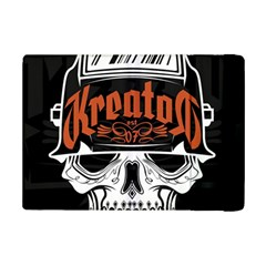 Kreator Thrash Metal Heavy Hard Rock Skull Skulls Ipad Mini 2 Flip Cases