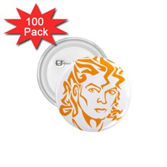 The King Of Pop 1 75  Buttons (100 Pack)