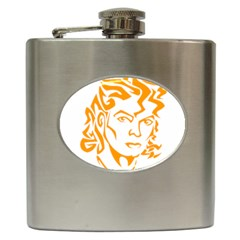 The King Of Pop Hip Flask (6 Oz)