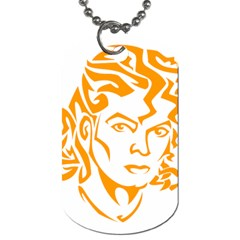 The King Of Pop Dog Tag (two Sides)