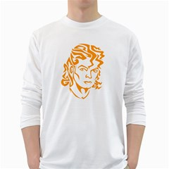 The King Of Pop White Long Sleeve T Shirts