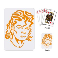 The King Of Pop Playing Card